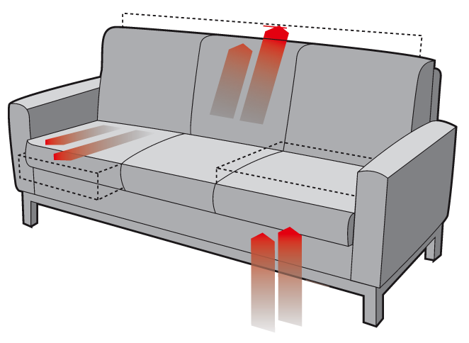 Sofa spezialist lounge sofa chair searching for how to for Transparent sofa cover